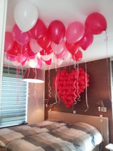 1 225x300 - Valentijnsdag met een hart ballon van klein tot groot