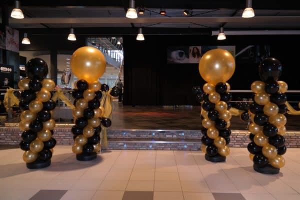 verschilballonpilaarhoogtetopballon90cm40cmmercedesnieuwjaarsborrelalkmaar  600x400 - Standaard Ballonpilaar