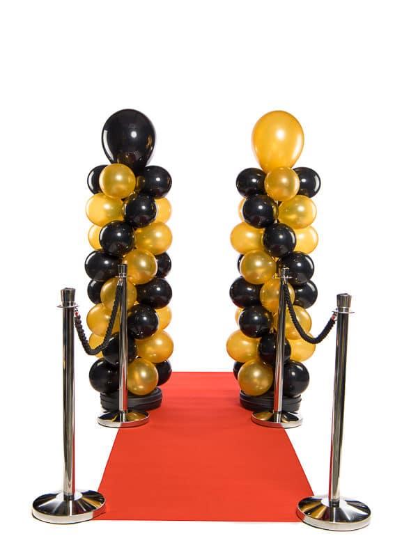 webshop ballonpilaren met rode loper 600x800 - Standaard Ballonpilaar