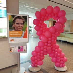 pinkribbonalkmaar 300x300 - Over De Decoratieballon