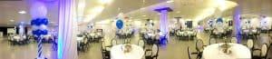 communie vermeer zaal 300x65 - ballondecoraties voor de Communie tijd
