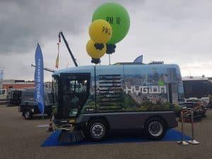 RAVOreinigingsdemodagenleleystadenormgroteballonnenbedruktDeDecoratieballonAlkmaar 300x225 - Opvallende ballonnen tijdens beurs