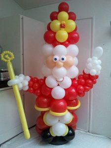 SinterklaasDeDecoratieballon 225x300 - Sinterklaasfeest met ballondecoraties