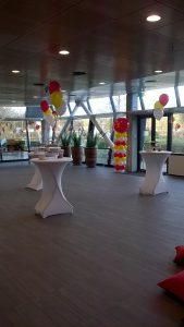 heliumballontrosSinterklaasfeestDeDecoratieballonAlkmaar 169x300 - Sinterklaasfeest met ballondecoraties