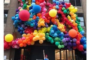 Ballonnenwand organic uitgangspunt 300x201 - Hoe komt ballonopdracht op maat tot stand bij De Decoratieballon
