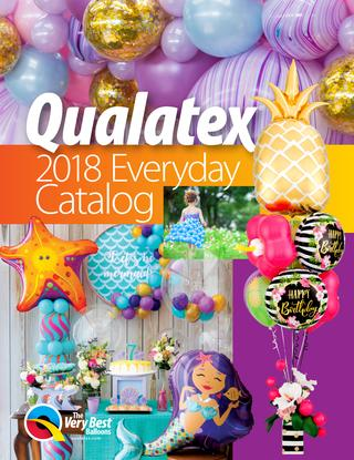qualatex catogue 2018 - Over De Decoratieballon