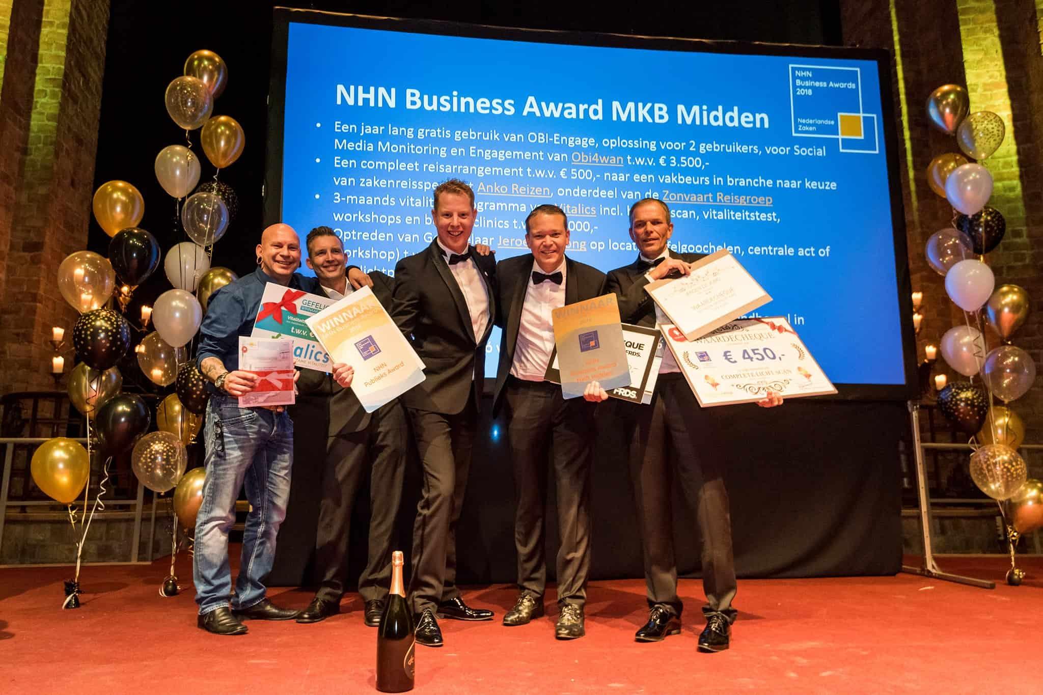 uitreiking-NHN-Business-Awards-2018-Heiloo-De-Decoratieballon-Alkmaar