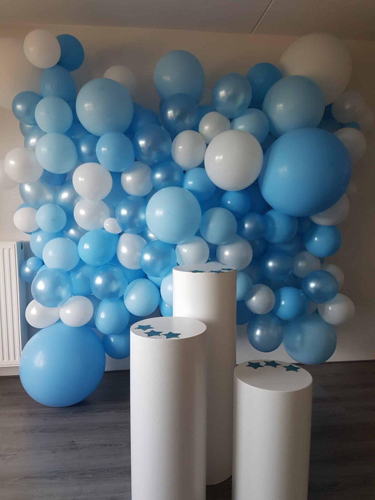 Decor ballonwand 1te verjaardag