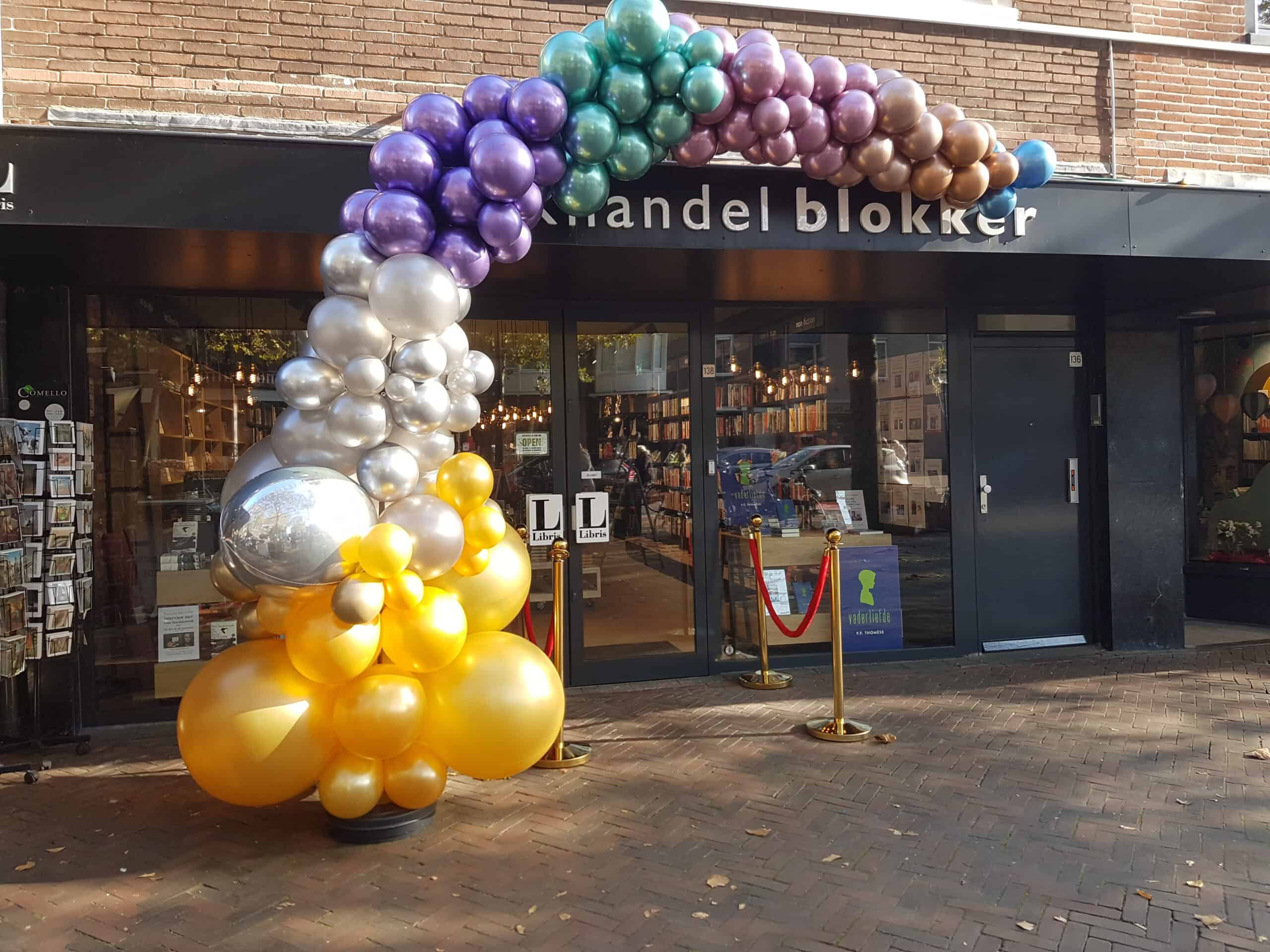 20191031 121523 scaled - Organic ballondecoratie van allerlei maten ballonnen