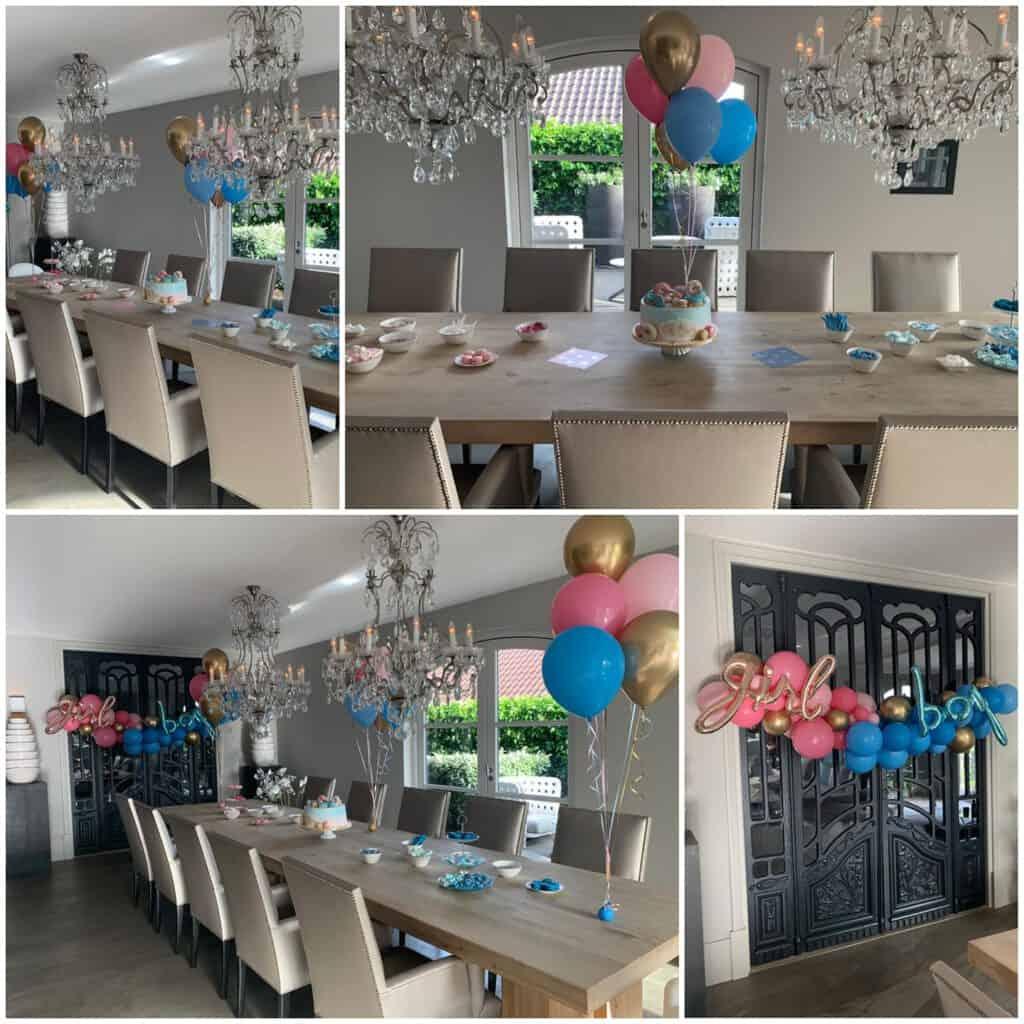 babyshower girl boy 1024x1024 - Organic ballondecoratie van allerlei maten ballonnen