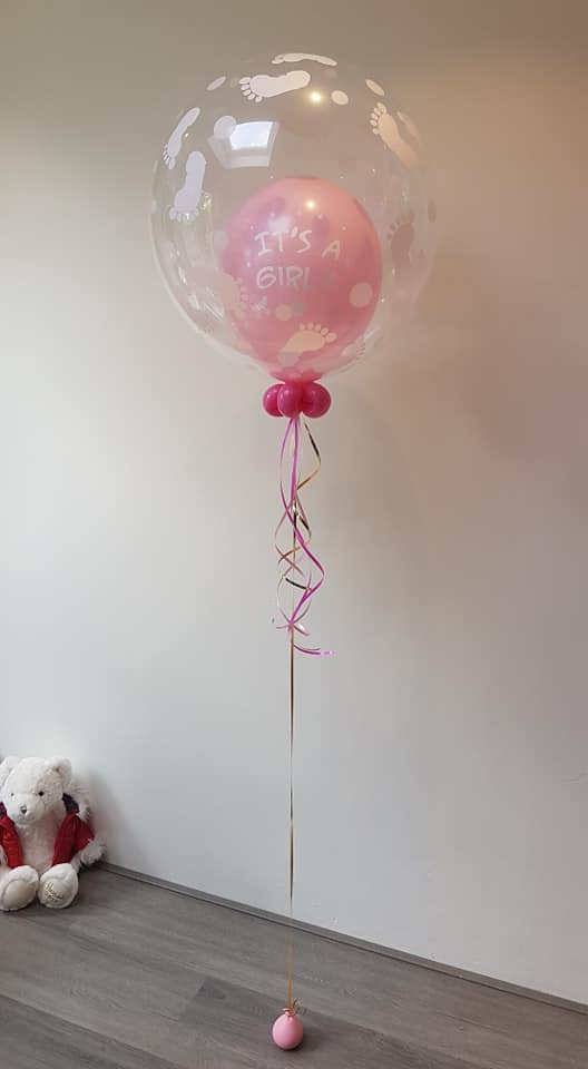 its a girl or its a boy ballon helium - Gender Reveal Party ballondecoraties